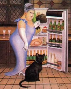 Beryl's cat fridge